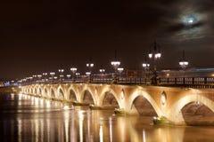 Pont de Pierre, Bordeaux Royalty Free Stock Photos