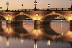 Pont de pierre bridge Royalty Free Stock Photo