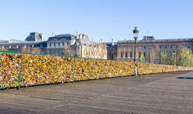Pont de Pont des Arts Photo stock