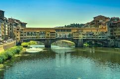 Pont de Ponte Vecchio, Florence Italy Photos libres de droits