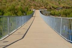 Pont de promenade au-dessus de lac Hodges Photo libre de droits