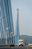 Pont de Qiao images libres de droits