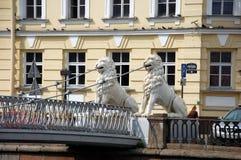 Pont de quatre lions Photos libres de droits