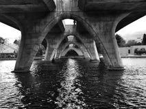 Pont de région de baie Images libres de droits