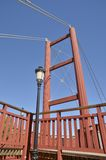 Pont de rouge de détail Photo stock