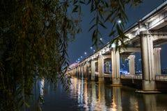 Pont de Séoul Images libres de droits