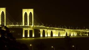 Pont de Sai Van, Macao Image libre de droits