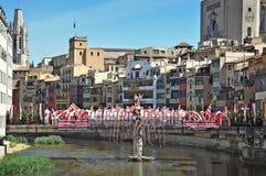 Pont de Sant Agustin Royalty Free Stock Photos