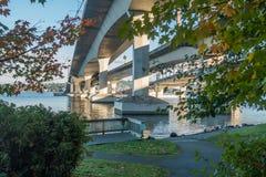 Pont 10 de Seattle Photos stock