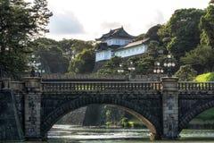 Pont de Seimonish et palais de Tokyo Photo stock