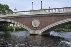 Pont de semaines de John W au-dessus de Charles River dans l'état de Massachusettes des Etats-Unis Photographie stock libre de droits