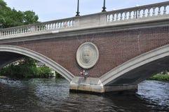 Pont de semaines de John W au-dessus de Charles River dans l'état de Massachusettes des Etats-Unis Photo libre de droits