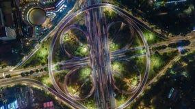 Pont de Semanggi, Jakarta l'indonésie photo libre de droits