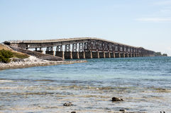 Pont de sept milles en Floride Image libre de droits