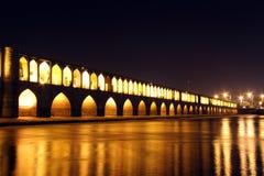 Pont de Si-0-Seh Photos libres de droits