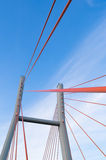 Pont de Siekierkowski, Varsovie, Pologne Images stock