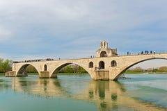 Pont de St Benezet à Avignon, France Photos libres de droits