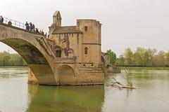 Pont de St Benezet à Avignon, France Photos stock