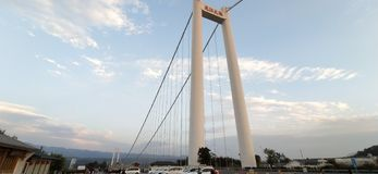 Pont de Tengchong, province de Yunnan, Chine image libre de droits