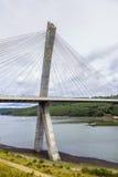 Pont de Terenez suspension bridge Royalty Free Stock Images
