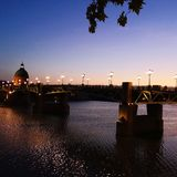 Pont de Toulouse France image libre de droits