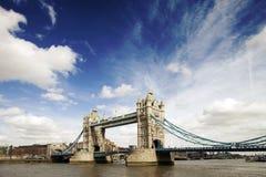 Pont de tour à Londres Image libre de droits