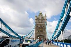 Pont de tour à Londres, R-U Image libre de droits