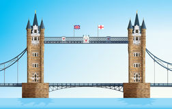Pont de tour de Londres image stock