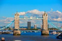 Pont de tour de Londres sur la Tamise image libre de droits