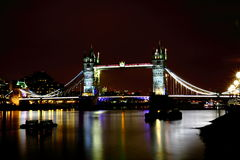 Pont de tour, Londres Images libres de droits