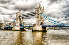 Pont de tour, point de repère historique à Londres Image libre de droits