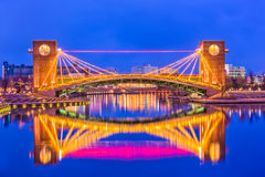 Pont de Toyama Japon image stock