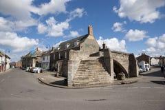 Pont de trinité, pont en pierre à trois voies du 14ème siècle de voûte, Crowla Images stock