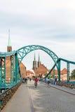 Pont de Tumski Images libres de droits