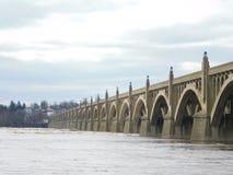 Pont de vétérans image stock