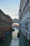 Pont de Venise des soupirs Images stock