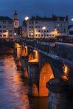 Pont de Verdun στη Angers Στοκ φωτογραφία με δικαίωμα ελεύθερης χρήσης