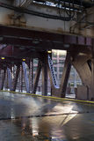 Pont de ville Images libres de droits