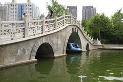 Pont de voûte Photographie stock