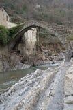 Pont de voûte, Italie Image libre de droits
