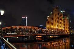 Pont de WaiBaiDu Photographie stock libre de droits