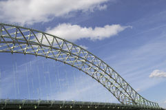 Pont 2 de Widnes Runcorn Image stock