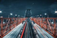 Pont de Williamsburg Images libres de droits