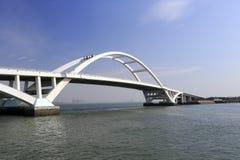 Pont de Wuyuanwan Photographie stock libre de droits