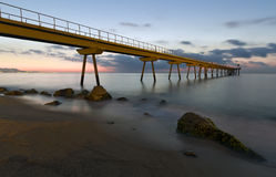 Pont del Petroli de Badalona Royalty Free Stock Images