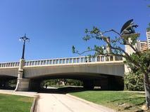 Pont del Regne. At Turia gardens in Valencia Spain Stock Images