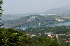 Pont des Amériques, Panama Photo stock
