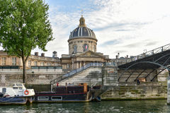 Pont des Arts - Παρίσι, Γαλλία Στοκ φωτογραφίες με δικαίωμα ελεύθερης χρήσης
