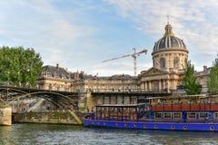 Pont des Arts - Παρίσι, Γαλλία Στοκ φωτογραφία με δικαίωμα ελεύθερης χρήσης
