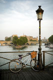 Pont des Arts, Παρίσι Στοκ εικόνες με δικαίωμα ελεύθερης χρήσης